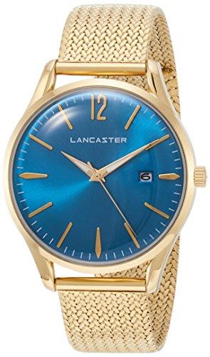 """Lancaster Paris """"Heritage"""" reloj de pulsera azul claro hombre"""
