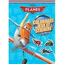 Coloriages, jeux et stickers Planes