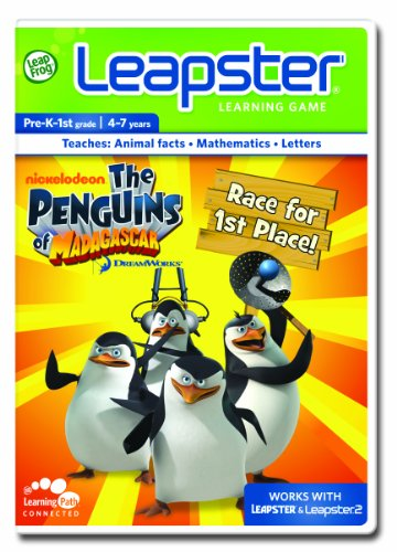 LeapFrog Leapster Learning Game: Penguins of Madagascar