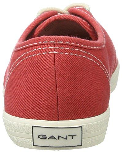 Gant New Haven, Sneaker Donna Rot (chrysanthemum)