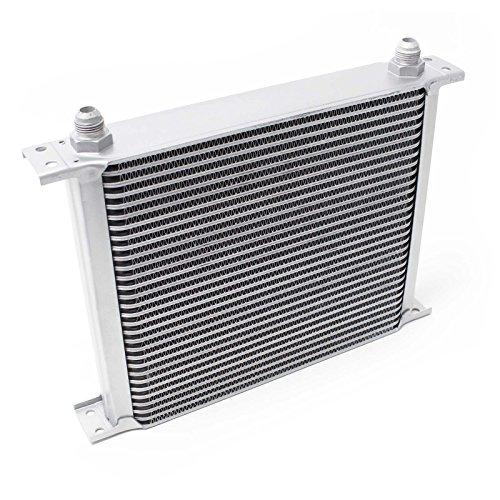 Wiltec Radiatore dellŽOlio Universale Alluminio 30 File Raffredamento dellŽOlio