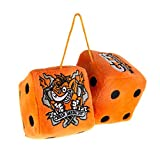 Crash Team Racing Furry Dice for Car (2 Pack)
