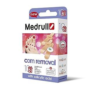 Medrull Hühneraugen Pflaster Soft Corn Removal 12 Stück Neuesten Generation