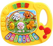 Juguete de piano - TOOGOO(R)Piano de granja de animal educativo musical de ninos bebe Juguete de musica del desarrollo