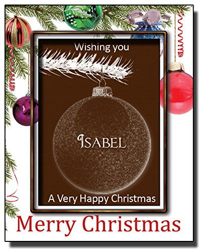 christmas-chocolate-bauble-card-with-name-isabel