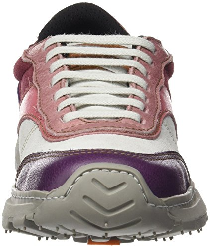 The Art Company 1041 Memphis Link, chaussures Derby mixte adulte Violet (Multi Cerise)