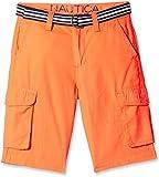 Nautica Kids Boys' Shorts (N465102Q633_Coral sun_5 - 6 years)