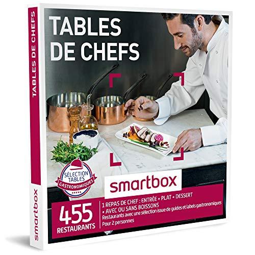 SMARTBOX - Coffret Cadeau - TABLES DE CHEF - 455 repas avec une sélection issue de...