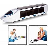 Gearmax Kinder Elektronische Spielzeug Eisenbahn,Mit Musik und Beleuchtung,Geschenk für Kinder