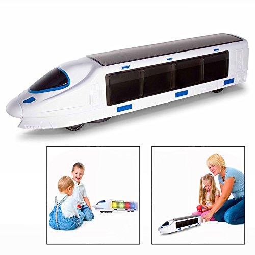 OFKPO Kinder Elektronische Spielzeug Eisenbahn,mit Musik und Beleuchtung,Geschenk für Kinder