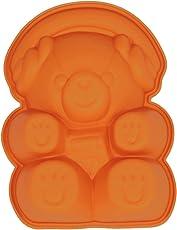 Silikomart Silicone Novelty Cake Mold Teddy Bear Cake Pudding Mold BakeWare (Sm-803)