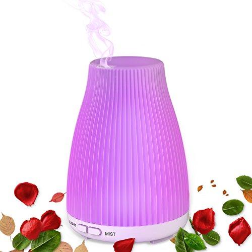 Diffusore di Olio essenziale, umidificatore, nebulizzatore fresco per aromaterapia di Neloodony, 100...