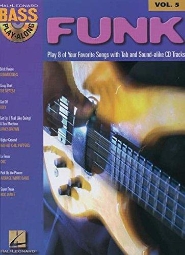 Preisvergleich Produktbild Bass Play-Along Volume 5: Funk: Noten,  Play-Along,  Bundle,  CD für Bass-Gitarre