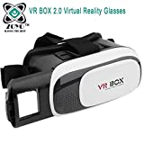 #9: Zoyo Vr Box, Virtual Reality Glasses, 3D Vr Headsets Compatible For iPhone, Samsung, Motorola, Sony, Oneplus, HTC and All Android Devices