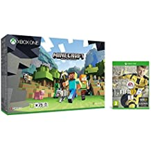 Xbox One - Pack Consola S 500 GB: Minecraft + FIFA 17 - Standard Edition
