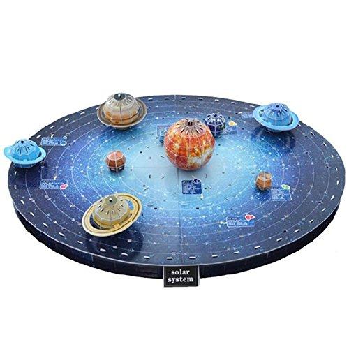 [Die Planeten] 3D-Puzzle Kinder Lustige Bues Modell Puzzle