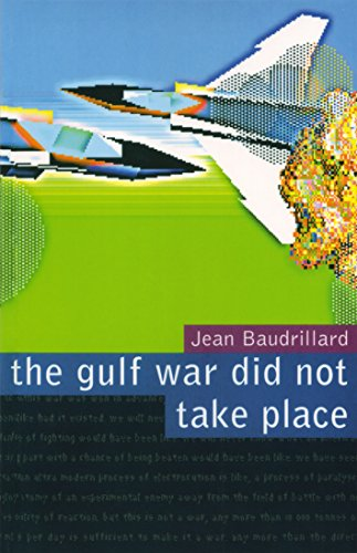 The Gulf War Did Not Take Place por Jean Baudrillard
