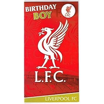 Liverpool birthday card and badge amazon toys games liverpool birthday card and badge bookmarktalkfo Choice Image