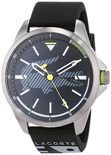 Lacoste Unisex-Adult Analogue Classic Quartz Watch with Silicone Strap 2010941