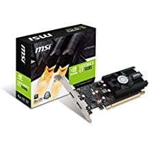 MSI GeForce GT 1030 2G LP OC GeForce GT 1030 2GB GDDR5 - Tarjeta gráfica (NVIDIA, GeForce GT 1030, 1265 MHz, 1518 MHz, 2 GB, GDDR5)