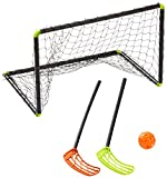 Stiga Sports Unihockeyset Set Player 60 Schwarz, STANDARD