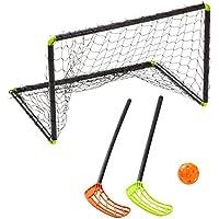 Stiga Player 79-1100-60 - Kit de Floorball, Color Negro