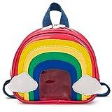 Lievevt Lievevt wasserdichte niedliche Kinder Schultasche modische Persönlichkeit Cartoon Regenbogen Muster Rucksack