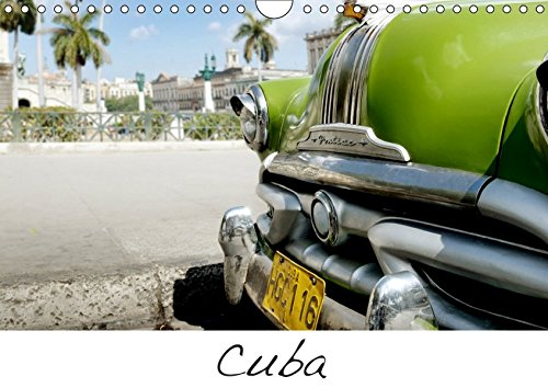 Cuba (Wandkalender 2019 DIN A4 quer): Kuba Havanna, Trinidad, Oldtimer, Menschen (Monatskalender, 14 Seiten ) (CALVENDO Orte)