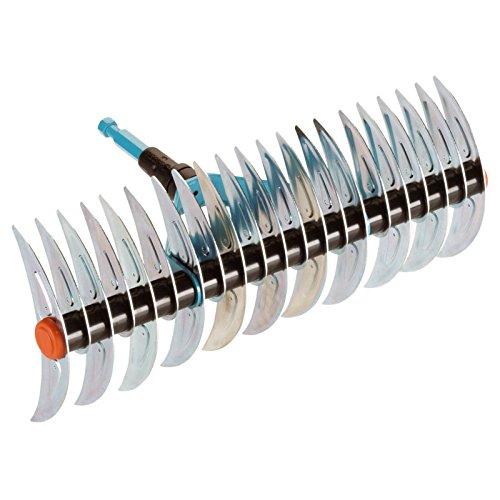 Gardena 3392 Schneidrechen Adapter für Combisystem; Wackelfreie Verbindung; Passend zu allen CS Stielen; Korrosionsgeschützt; Unterschiedliche Messer (Arbeitsbreite: 35cm)