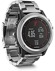 Garmin fenix 3 HR Titanium GPS-Multisportuhr - Herzfrequenzmessung am Handgelenk, Smart Notifications, hochwertiges Titaniumarmband