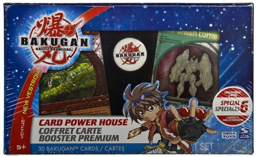 Bakugan Card Power House Booster Premium -