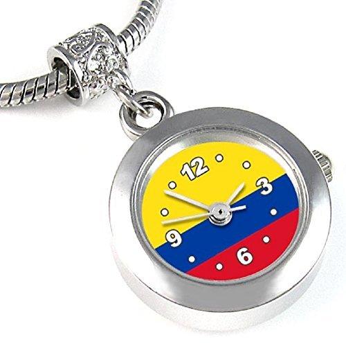 Colombia reloj para el collar o pulsera