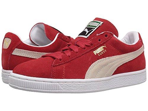 PUMA Suede Classic Sneaker High Risk Red White 8 5 M US Men s