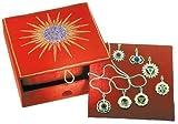 Esoterischer Schmuck Chakra-Anhänger Set (7 Stück) Chakra-Box mit allen 7 Chakra- Anhängern