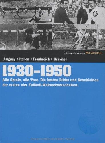 1930-1950. Süddeutsche Zeitung WM-Bibliothek - Uruguay Wm