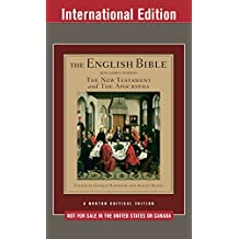 The English Bible, King James Version: The New Testament and The Apocrypha (International Student Edition)  (Vol. 2)  (Norton Critical Editions) (English Edition)