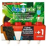 Aquasolo 27193465 Lot de 4 Cônes d'Arrosage Rouge Taille XL