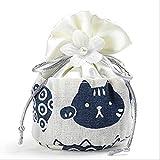 txxzn Bolsa De Fragancia 1pcs Fortune Cat Air Freshener Scented Sachetsr Aomatic Bag For Wardrobe Car Closet Home Jazmín