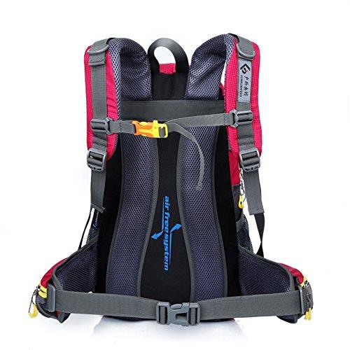Wanderrucksäcke, Wandern Rucksack, Camping Rucksack / Reisen Rucksack / Trekking Rucksäcke / Casual Daypack Tasche für Outdoor Sport Wandern Trekking Camping Klettern Berg rose red