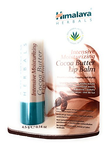Himalaya Herbals intensive moisturizing lip balm with cacao butter / intensif hydratant baume à lèvres au beurre de cacao 4,5 g