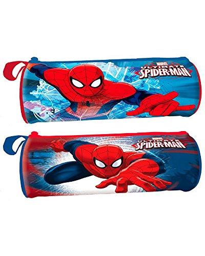 Portatodo Spiderman Marvel Spider Jump cilindrico surtido