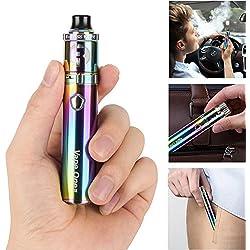 Cigarette Electronique Kit Complet 40W, Eboss Vape Kit, 2000mah intégrée Batterie Top Refill Atomiseur 0.3ohm 2ml Complet Vape Pen Set Cigarettes électroniques sans Nicotine ni Tabac (Arc-en-ciel)