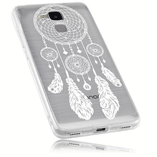 mumbi Schutzhülle für Huawei Honor 5C Hülle im Traumfänger Design