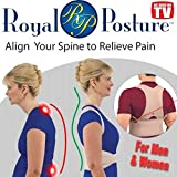 #2: Clomana Royal Posture Back Support M Size And Multi Color