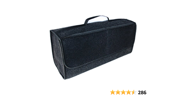 Handycop Kofferraumtasche Groß Schwarz Filz Elektronik
