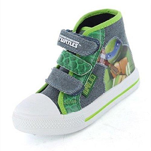 Teenage Mutant Ninja Turtles , Jungen Stiefel Grün grün, Grün - grün - Größe: 25,5 EU (Ninja Schuhe Turtle Teenage Mutant)