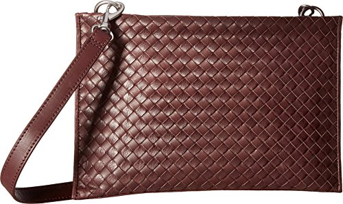 Liebeskind Lene bisaccia a tracolla pelle 28 cm bordeaux, rot