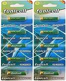 Eunicell 10 x 27A Alkaline 12V Batterie (2 Blistercards a 5 Batterien) EINWEG