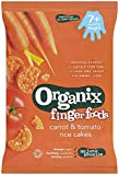 Organix Stage 2 From 7 Months Organic Carrot and Tomato Rice Cakes 50 g (Pack of 7)