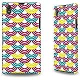 Hülle / Case / Cover für das Sony Xperia Z1 mit Designer Motiv - ''Rainbow'' von caseable